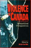Violence in Canada 9780195410587