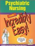 Psychiatric Nursing Made Incredibly Easy! 9781582550589