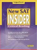 New SAT Insider : Critical Reading, Lingua Forum Project Team Staff, 8955630581