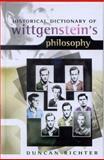 Historical Dictionary of Wittgenstein's Philosophy, Duncan Richter, 0810850591