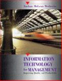 Information Technology for Management : Improving Quality and Productivity, Turban, Efraim and Wetherbe, James, 0471580597