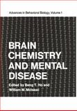 Brain Chemistry and Mental Disease : Proceedings of a Symposium on Brain Chemistry and Mental Disease Held at the Texas Research Institute, Houston, Texas, November 18-20 1970, , 1468430599