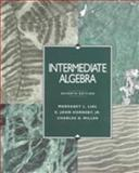 Intermediate Algebra, Lial, Margaret L. and Hornsby, E. John, Jr., 0673990591