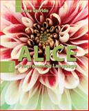 Alice : The Programming Language, Garrido, Jose, 076375059X