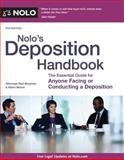 Nolo's Deposition Handbook, Paul Bergman and Albert Moore, 1413320597