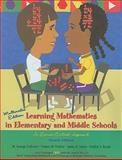 Learning Mathematics in Elementary and Middle School : A Learner-centered Approach, Cathcart, George and Pothier, Yvonne M., 0131700596