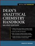 Dean's Analytical Chemistry Handbook, Patnaik, Pradyot, 0071410600