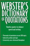 Webster's Dictionary of Quotations, Auriel Douglas, 0517220601