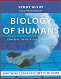Study Guide for Biology of Humans : Concepts, Applications, and Issues, Goodenough, Judith and McGuire, Betty A., 0135070600
