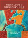 Problem Solving and Programming Concepts, Sprankle, Maureen and Hubbard, Jim, 0136060609