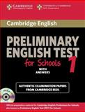 Preliminary English Test for Schools 1, Cambridge ESOL Staff, 0521170605