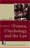 The Handbook of Women, Psychology, and the Law, , 0787970603