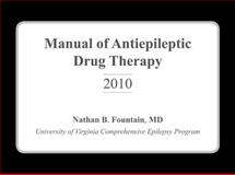 Manual of Antiepileptic Drug Therapy, Fountain, Nathan B., 1932610618