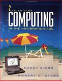 Computing in the Information Age, Stern, Robert A. and Stern, Nancy B., 0471110612