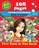 Five Tales in One Book, Tamara Fonteyn, Preschool Collection, Reading and Painting, Educational Workbook, Creative Activities, 1623210615