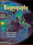 Biogeography, Riddle, Brett R. and Brown, James H., 0878930620