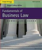 Fundamentals of Business Law:Summarized Cases, Miller and Jentz, 1111530629