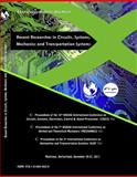 Recent Researches in Circuits, Systems, Mechanics and Transportation Systems : Proceedings of the 10th WSEAS International Conference on CIRCUITS, SYSTEMS, ELECTRONICS, CONTROL and SIGNAL PROCESSING (CSECS '11,, 1618040626