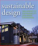 Sustainable Design : The Science of Sustainability and Green Engineering, Vallero, Daniel A. and Brasier, Chris, 0470130628