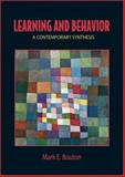 Learning and Behavior, Mark E. Bouton, 0878930639