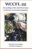 Wccfl 22 : Proceedings of the 22nd West Coast Conference on Formal Linguistics, , 1574730630