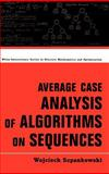 Average Case Analysis of Algorithms on Sequences 9780471240631