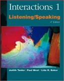 Interactions 1 : Listening/Speaking, Tanka, Judith and Most, Paul, 0072330635