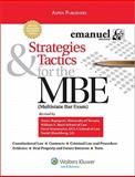Strategies and Tactics for MBE 2008, Walton and Emanuel, Steven L., 0735570639