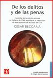 De los Delitos y de Las Penas 9789681660635