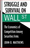 Struggle and Survival on Wall Street 9780195050639