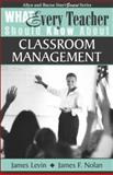 What Every Teacher Should Know about Classroom Management, Levin, James and Nolan, James F., 0205380646