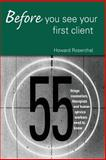 Before You See Your First Client, Howard Rosenthal, 0415950643