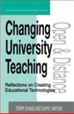 Changing University Teaching, Terry Evans and Daryl Nation, 0749430648