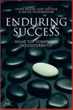 Enduring Success : What Top Companies Do Differently, Matzler, Kurt and Tschemernjak, Dieter, 0230550649