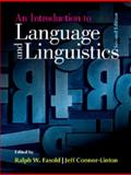 An Introduction to Language and Linguistics, , 1107070643