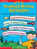 Super-Fun Reading and Writing Skill Builders, Scholastic, Inc. Staff, 0439060656