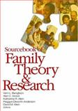 Sourcebook of Family Theory and Research, Acock, Alan C. and Klein, David M., 0761930655