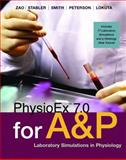 PhysioEx 7. 0 for Anatomy and Physiology : Laboratory Simulations in Physiology, Stabler, Timothy and Zao, Peter, 0321500652