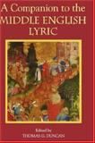 A Companion to the Middle English Lyric, , 1843840650