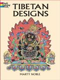 Tibetan Designs, Marty Noble, 0486420663