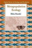 Metapopulation Ecology, Hanski, 0198540663