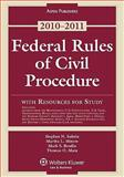 Federal Rules Civil Procedure W/ Study Resources 2010-2011, Subrin, 0735590664