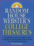 Random House Webster's College Thesaurus, RH Disney Staff, 0375400664