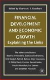 Financial Development and Economic Growth : Explaining the Links, , 1403920664
