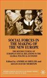 Social Forces in the Making of the New Europe, Andreas (Edt)/ Morton, Adam Davi Bieler, 0333920678
