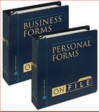 Forms on File Set : Business Forms on File/Personal Forms on File, Facts on File, Inc. Staff, 0816040672