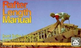 Rafter Length Manual, Benjamin Williams, 0910460671