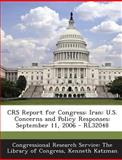 Crs Report for Congress, Kenneth Katzman, 128986067X