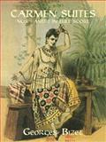 Carmen Suites Nos. 1 and 2 in Full Score, Georges Bizet, 0486400670