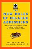 The New Rules of College Admissions, Michael London, 0743280679